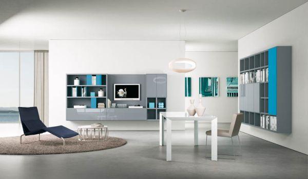 Luxury Minimalist Italian Dining Room Interior Design
