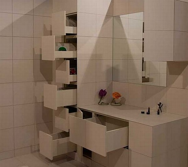 Шкафы в ванную комнату напольные своими руками