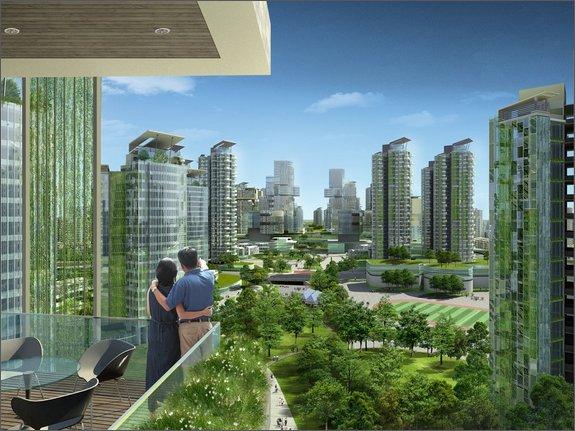 Концепт эко-города